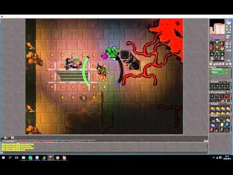 Newbie team exploring Oramond dungeon