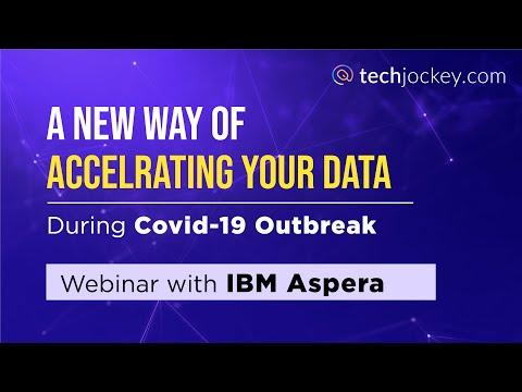 A new way of accelerating your data with IBM Aspera   Techjockey Webinar