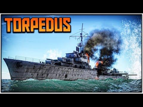 TORPEDUS IN ACTION! (War Thunder Ship Gameplay)