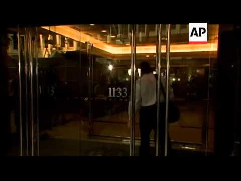 NFLPA President Kevin Mawae arrived Monday morning at NFLPA headquarters in Washington. Mawae and th