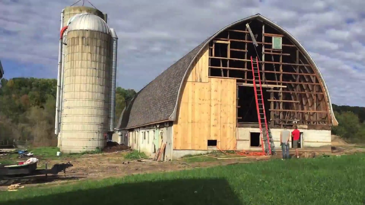 Residing Old Barn Time Lapse Youtube