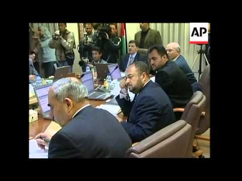 Arrivals for Palestinian cabinet mtg, Abbas meets French consul, funeral