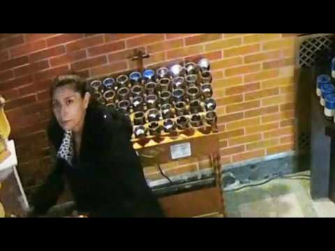 Woman caught on video robbing donation box in Bronx church