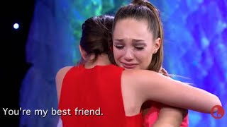 Dance Moms - The Girls Say Their FINAL GOODBYES To Maddie & Mackenzie | S6, E20