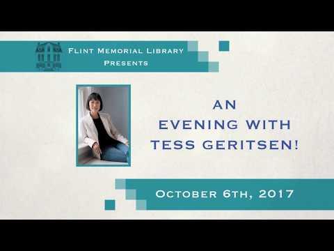 Flint Memorial Library Presents An Evening With Tess Gerritsen 10/4/17