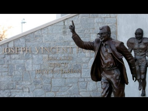 CNN Weekend Shows - Penn State is removing the statue of Joe Paterno