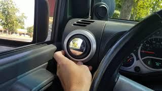Cheap DYI Jeep Side Mirror For Doorless Blind Spot