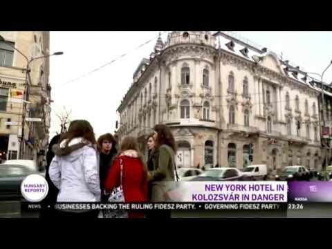 Save Hotel New York project in Hungarian media – M1 Television English broadcast