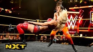 Paige, Emma & Bayley vs. Charlotte, Sasha Banks & Summer Rae: WWE NXT, June 12, 2014