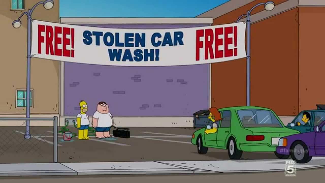 Family Guy Car Wash Remake