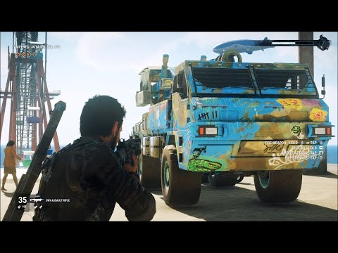 Just Cause 4 Insane Night Chase  