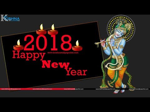 Happy New Year Krishna Image 23