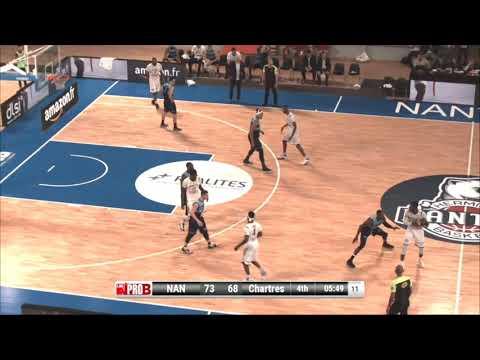 Tiegbe Bamba HD Highlights France Pro B 2018-2019