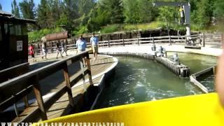 Rattlesnake Rapids On-ride (HD POV) Lagoon Park