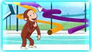Curious George - Splash  Tastic  Water Slide - Curious George Games thumbnail