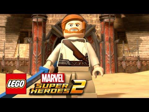 LEGO Marvel Super Heroes 2 - How To Make Obi-Wan Kenobi
