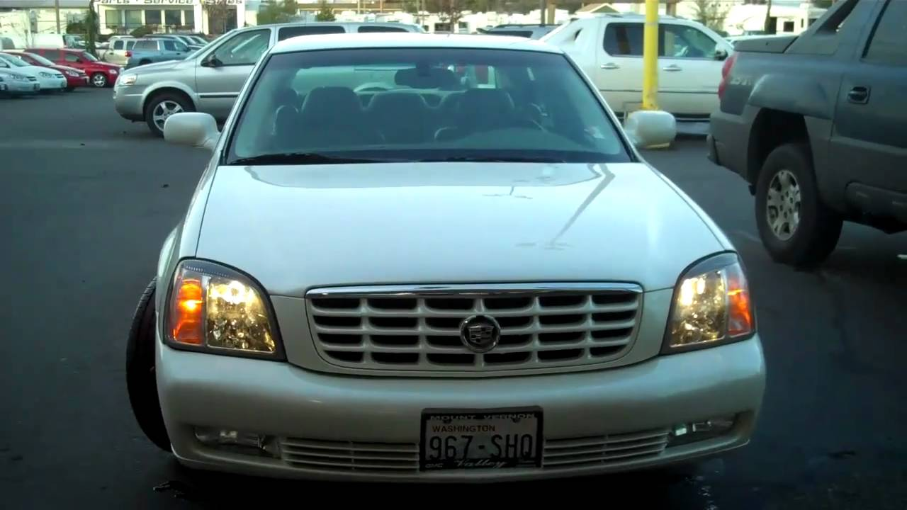 2002 Cadillac Deville Dts Youtube
