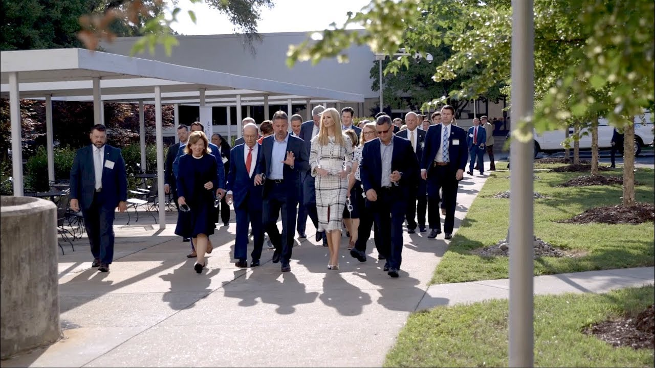 The White House - Ivanka Trump Visits North Carolina with the American Workforce Policy Advisory Com
