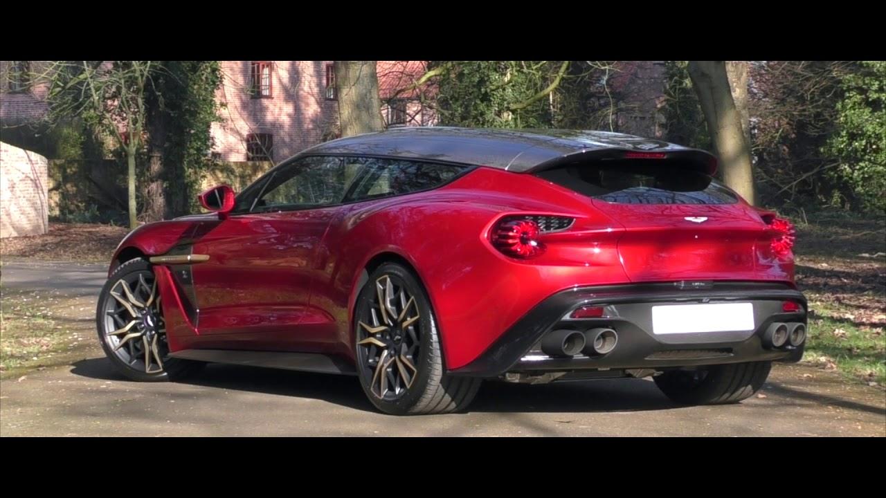 Aston Martin Vanquish Zagato Shooting Brake Youtube