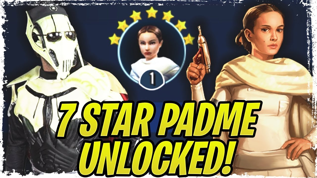 7 Star Padme Legendary Guide! NO B1 AND DROIDEKA! Aggressive Negotiations  Legendary Event | SWGoH