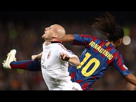 Ronaldinho vs Jaap Stam HD - Roni Tv