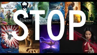 Please Disney, No More Live Action Remakes (and here's why!)