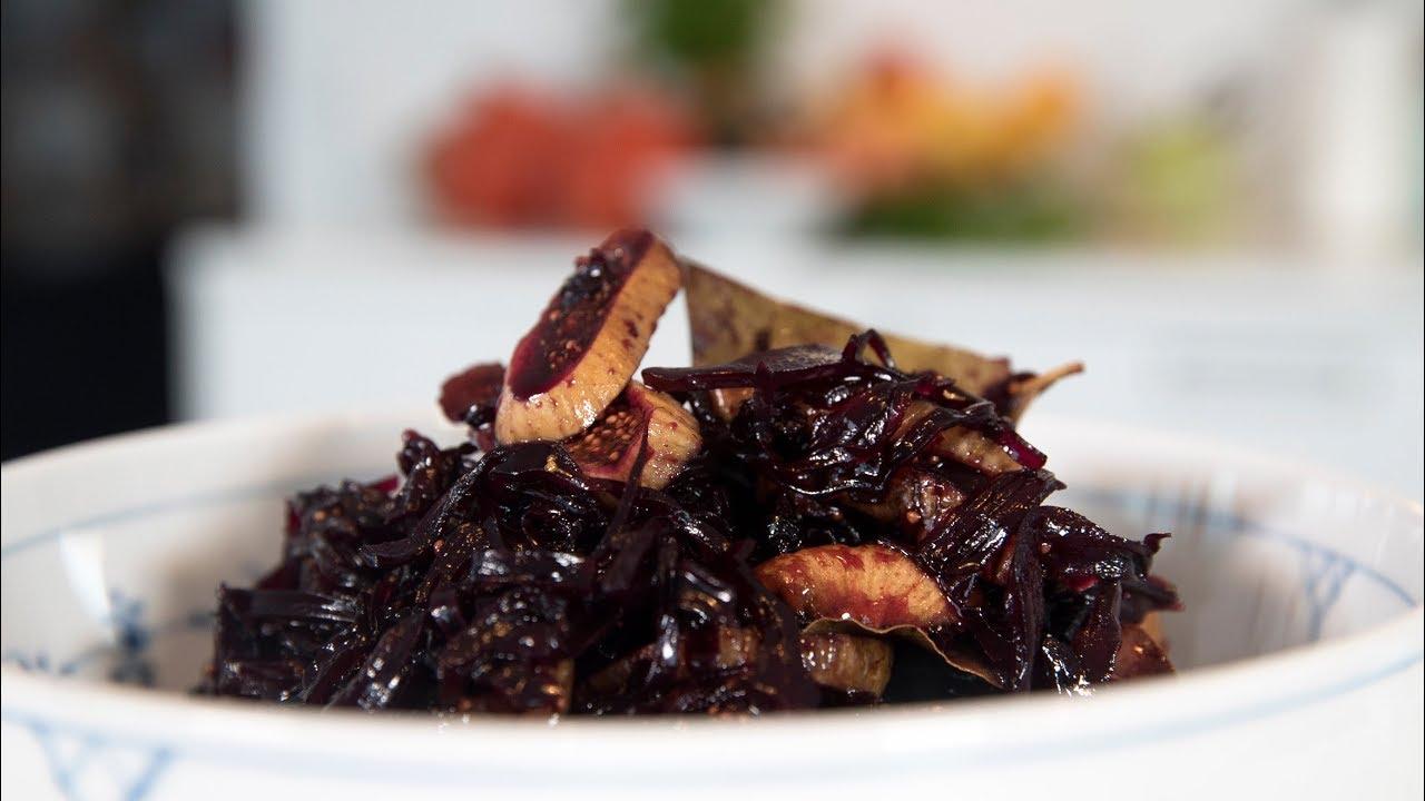 rødkål med balsamico