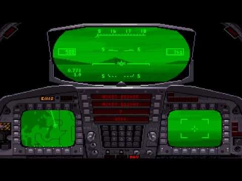 F-15 Strike Eagle 3: Two Missions, Extreme (PC/DOS) 1992, MicroProse