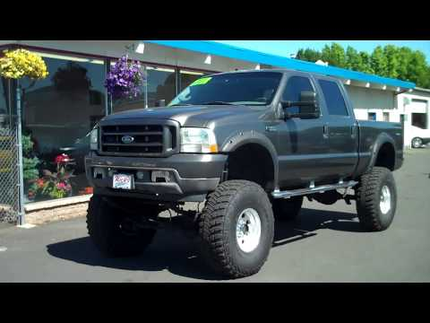 2003 FORD F350 SUPERDUTY CREWCAB LARIAT 4X4 SOLD!!