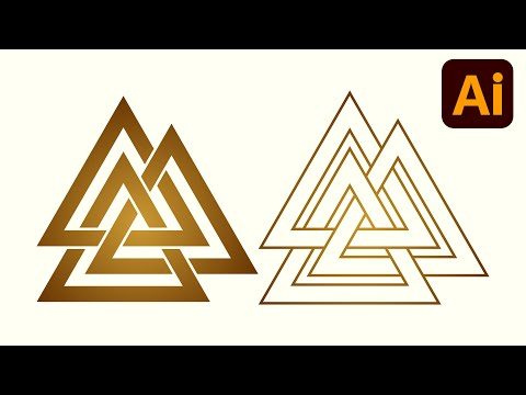 Best logo design | 3D logo design | Polygon | Adobe illustrator tutorials | 020 thumbnail