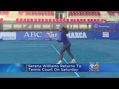 Serena Williams Gearing Up For Her Comeback