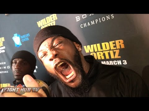 DEONTAY WILDER: I AM GONNA KNOCK KING KONG OUT!