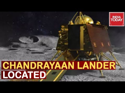 ISRO Locates Chandrayaan-2