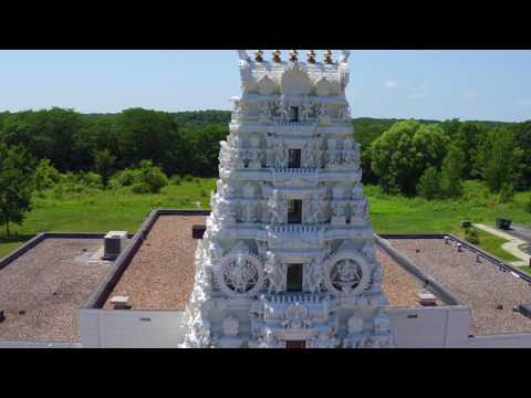 Hindu Temple. Madrid, Iowa