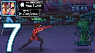 Disney Heroes Battle Mode Android iOS Walkthrough - Part 7 - CH3: Market Alleys, Arena