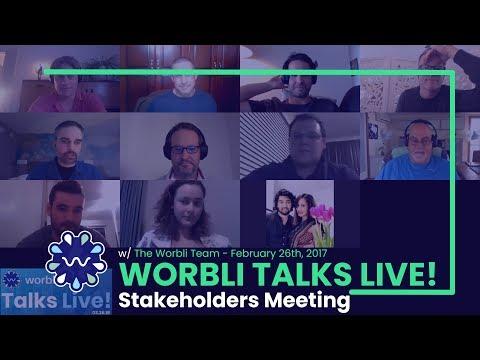 WORBLI Talks Live - Public Team Progress Meeting and AMA - Replay