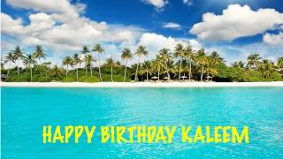 Kaleem   Beaches Playas - Happy Birthday