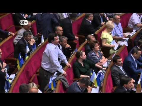 Ukraine's Yatsenyuk steps down as prime minister | Journal