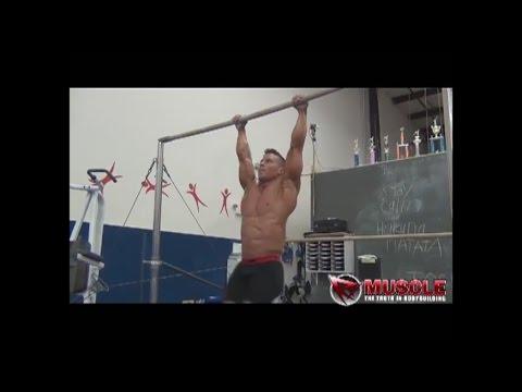 Josh DeVerie Bodybuilder America Ninja Gymnast Trains For Jr  Nationals 2013