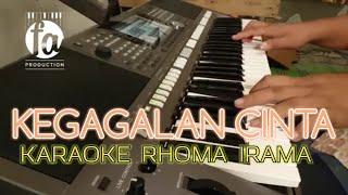 KEGAGALAN CINTA - KARAOKE RHOMA IRAMA VERSI DUT BAND MP3