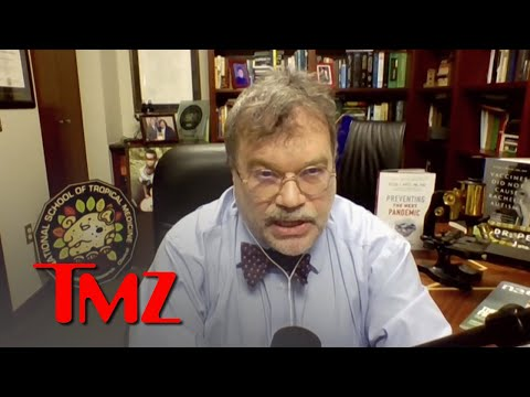 Jon Stewart's COVID Lab Rant Hurts Frontline Scientists, Says Dr. Peter Hotez   TMZ