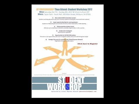 GEN - Student Workshop 2017 For Higher Education Abroad - Part 1