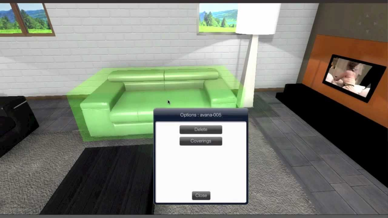 Natuzzi Italia   3D Room Planner