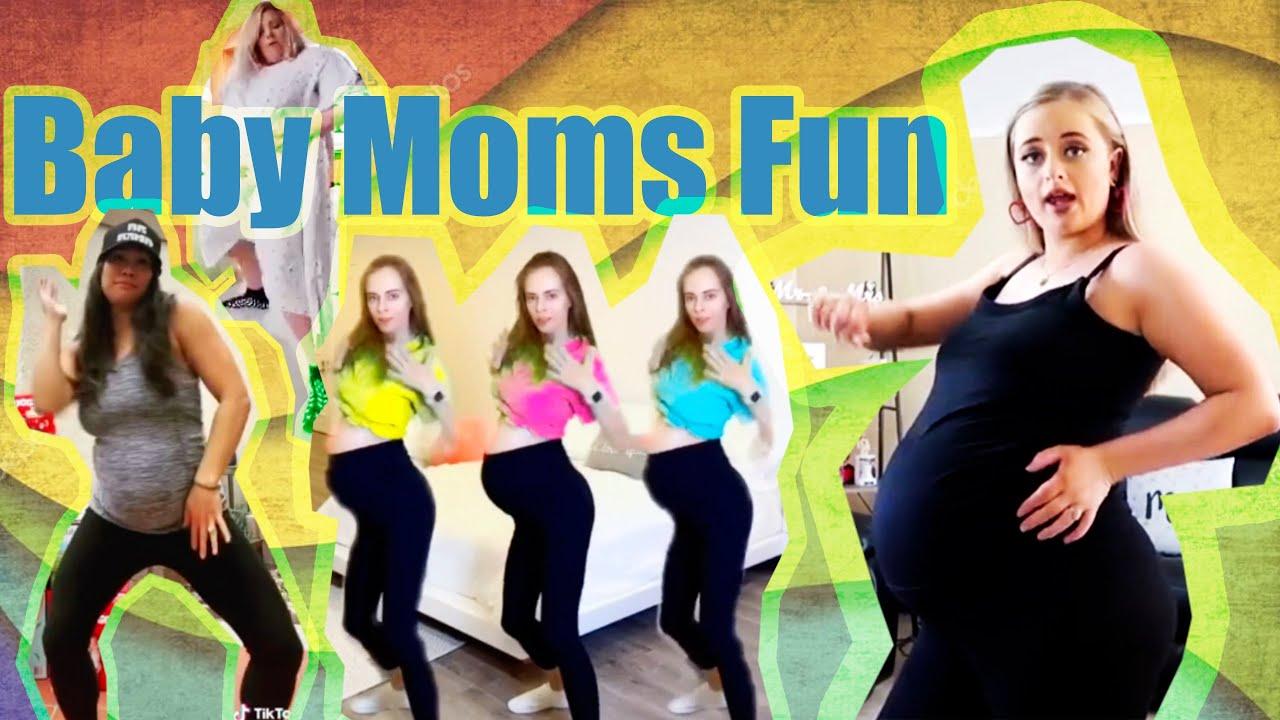 THE MOST ACTIVE TIKTOK BABY MAMAS - YouTube