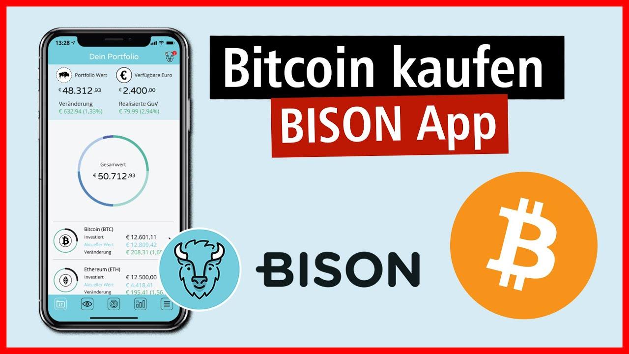 bitcoin kaufen app