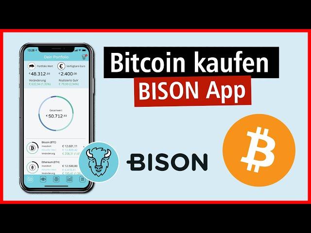 Bitcoin kaufen mit der BISON App 2020 ✅ Anleitung / Tutorial