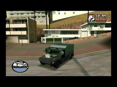 Самые разбитые тачки в GTA San Andreas.
