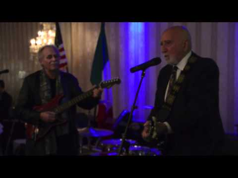Dominic Chianese Performs at the Our Lady of Mount Carmel Church Dinner