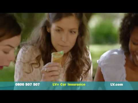 LV= Car Insurance TV Advert   July 14