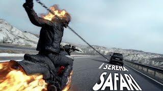 Serena Safari Ghost Rider Version   🎧8D AUDIO 🎧 Marvel #serenasafari